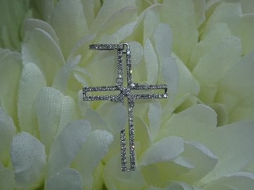 0.25ct Diamond Cross