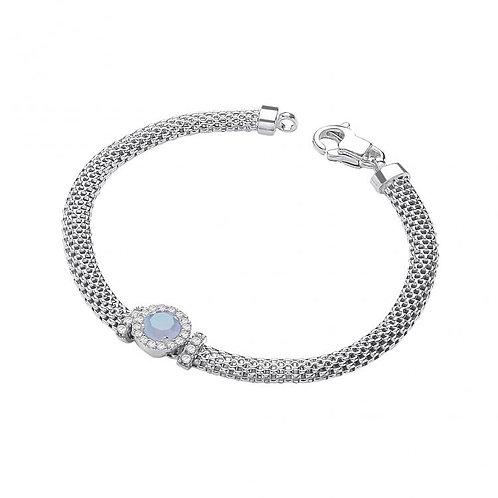 Fleur Silver Bracelet