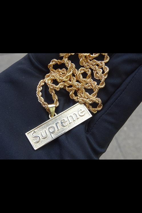 Custom 9ct Supreme Pendant
