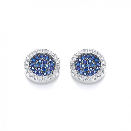 Bailey Blue & Clear Studs