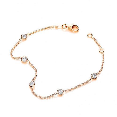 Giovanna Gold Plated Bracelet