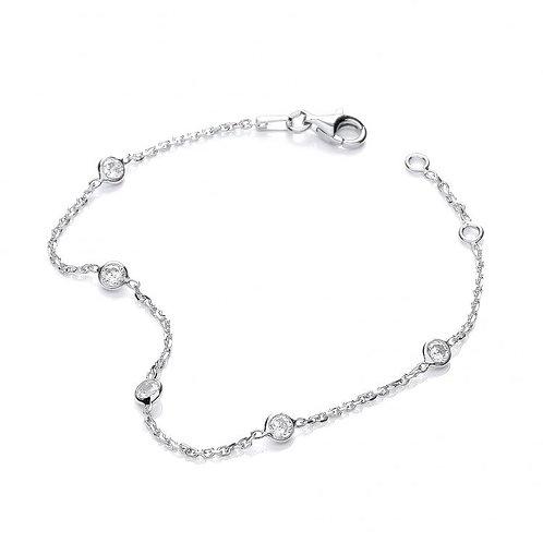 Giovanna Silver Bracelet