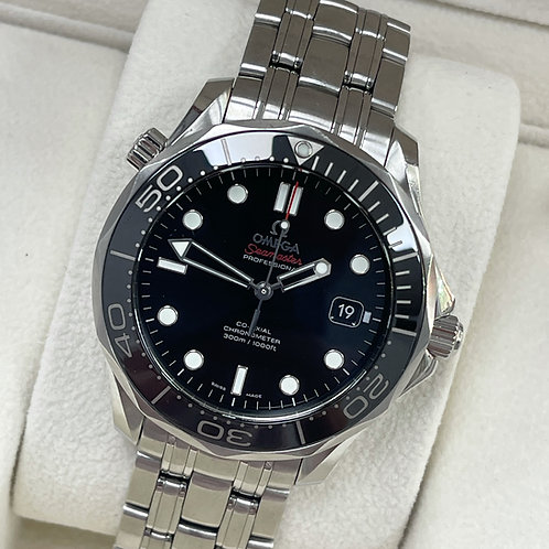 Omega Seamaster Black Dial