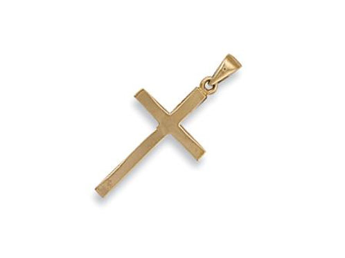 9ct Plain Cross