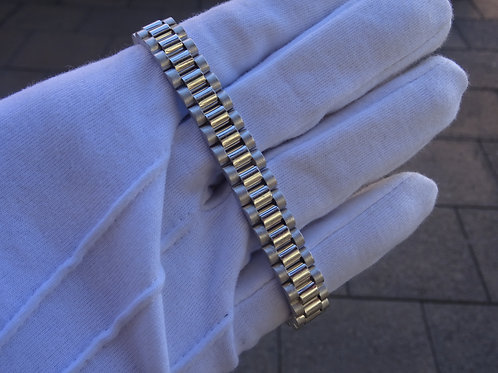 Silver Rolex Style Bracelet