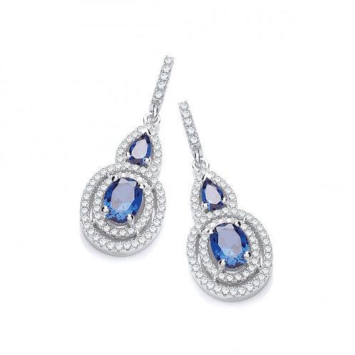 Cassandra Azure Blue Drops