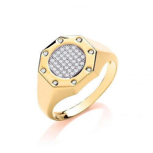 9ct CZ Ring