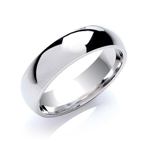 6mm Court Wedding Band