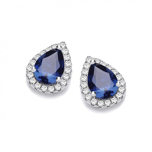 Dinah Blue Earrings