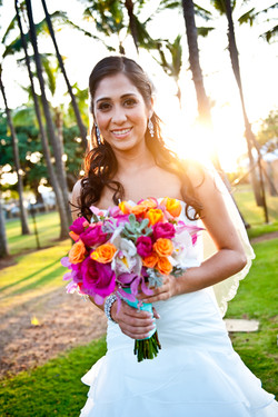 The bride... Trevino/Lopez wedding.