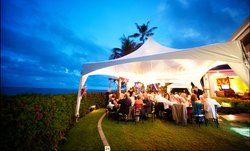 Tent by Pacific Party Rentals.