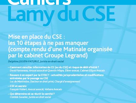Mise en place du CSE : les 10 étapes à ne pas manquer