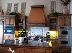 Refreshed kitchen cabinets