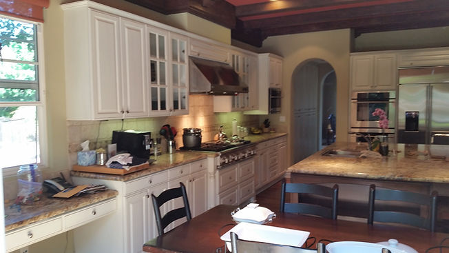 remodeled kitchen cabinets
