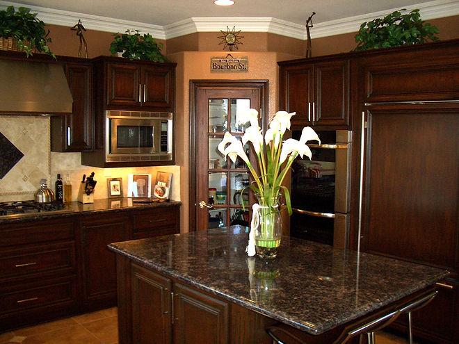 kitchen cabinet staining encinitas california