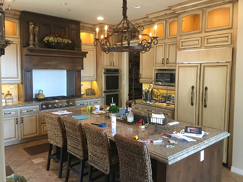kitchen remodeling with cabinet refacing