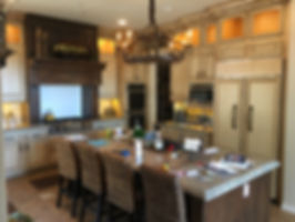 kitchen cabinets refinished into french country style vista california