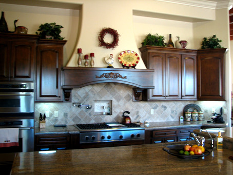 Kitchen Cabinet Refinishing Tips!