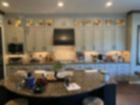 kitchen after remodeling, cabinet refaci