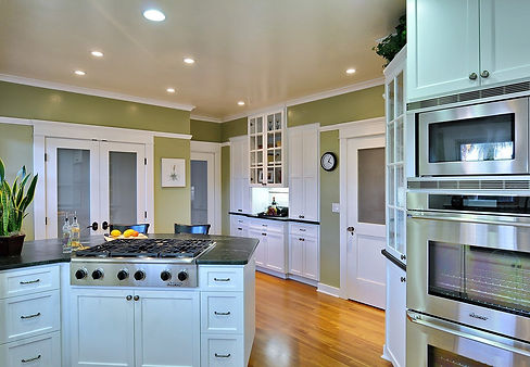 kitchen remodeling, cabinet refacing, painting and glazing in Rancho Santa Fe California..