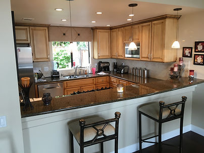 kitchen cabinet glazing rancho santa fe california
