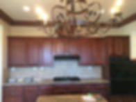 cabinet painting and refacing as part of