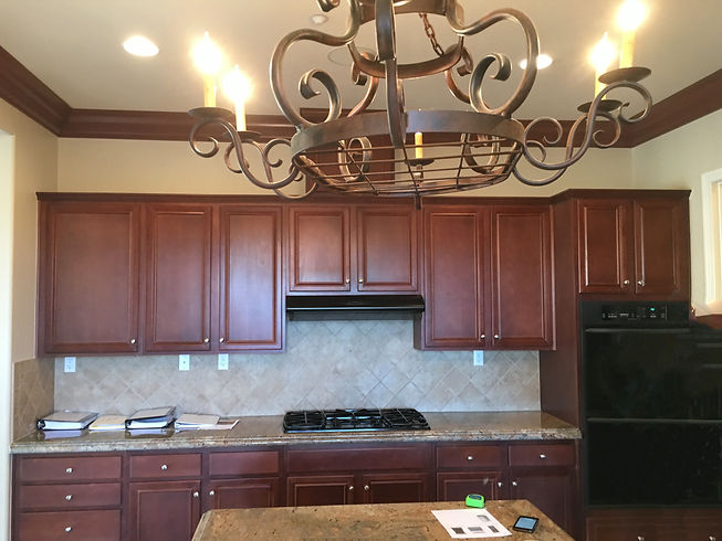 Cabinet painting and refacing in San Diego
