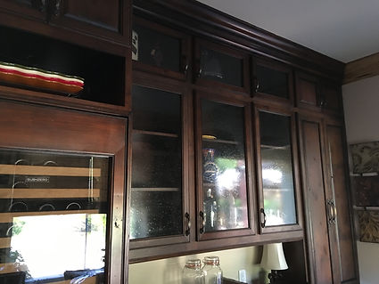 stained cabinets rancho santa fe california