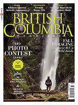 British Columbia Magazine grizzly bear article.
