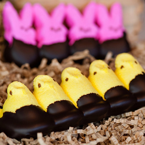 Chocolate-Dipped Chick & Bunny Peeps