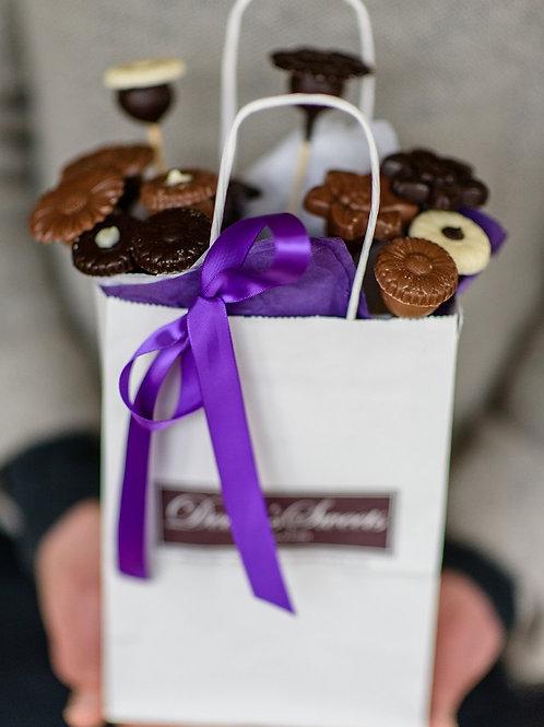 Chocolate Flowers - 6