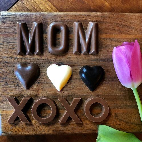Words to Mom! Milk Chocolate