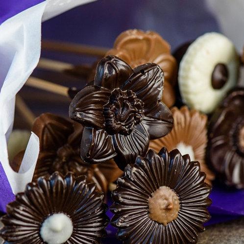 Chocolate Flowers - 12
