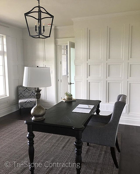 We custom designed this floor-to-ceiling wainscoting specifically for this space.jpg