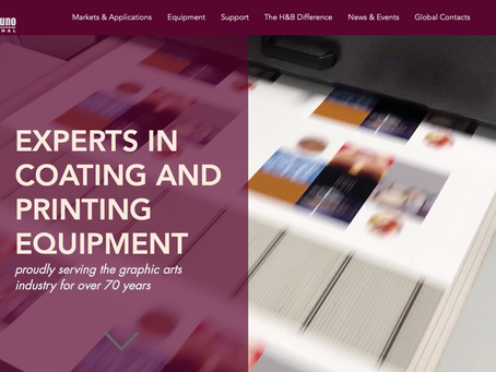 Dynamic New Online Presence from Harris & Bruno
