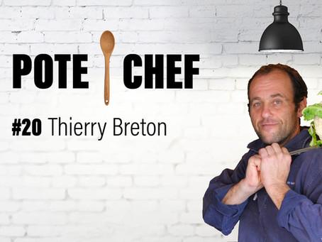 Pote Chef #20 : merlu en croûte façon Colbert, avec Thierry Breton 🐟🥬