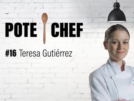 Pote Chef #16 : artichauts frits et ventrèche de porc croustillante, avec Teresa Gutiérrez 🥣🐷🍷