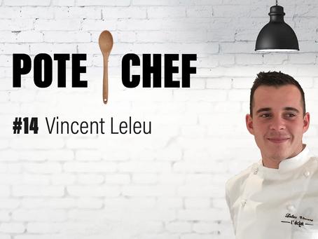 Pote Chef #14 : aile de volaille fermière en croûte de boudin noir au citron, avec Vincent Leleu 🐔🐷🍋