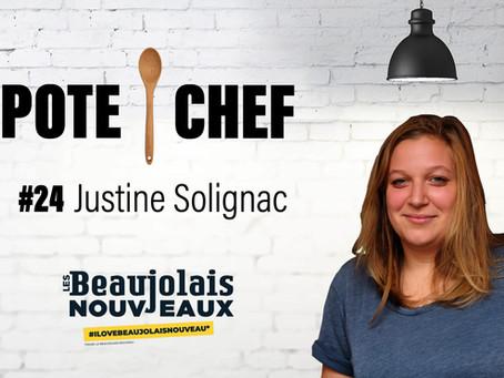 Pote Chef #24 spécial Beaujolais Nouveaux : les pois chiches de Justine Solignac