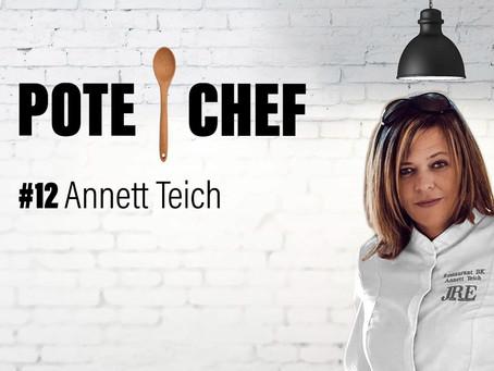 Pote Chef #12 : pickles de légumes, poulet au soja et chips d'épluchures avec Annett Teich🍗🥕🧅