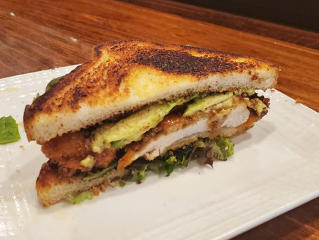 NEW* Sushi House Katsu Sandwich, Now Available!