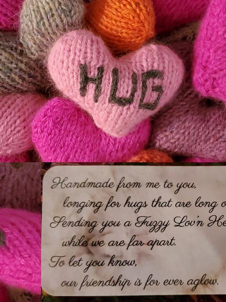 Fuzzy Lov'n Hearts
