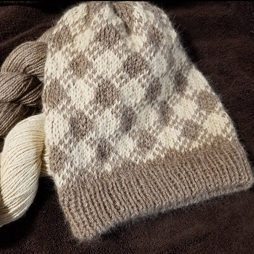 Mohair Bunny Tilted Lumber Jack Hat