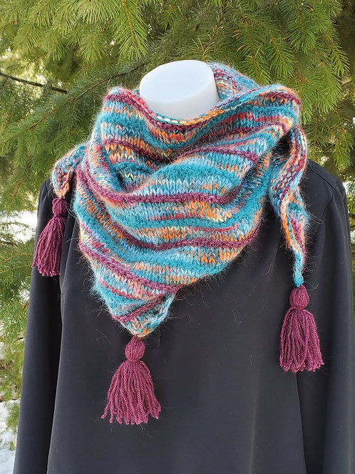 Cozy Winter Shawlette