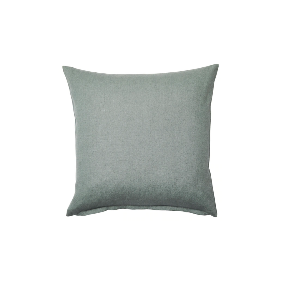Sage green pillow