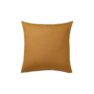 Mustard velvet pillow