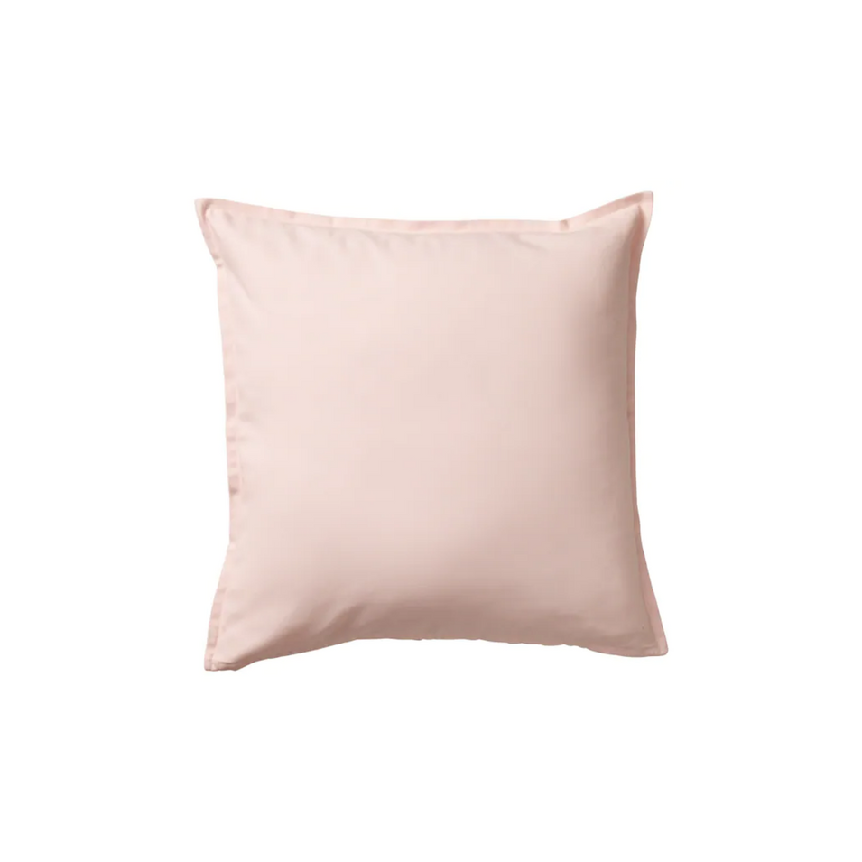 Pink canvas pillow