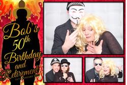VIP Photo Booth - Bob's 50th!