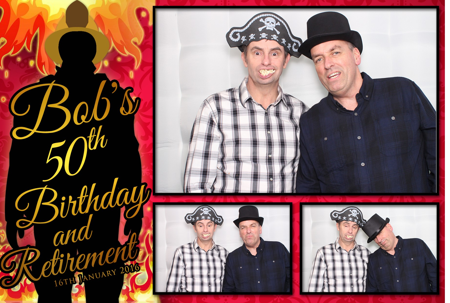 VIP Photo Booth - Bob's 50th!