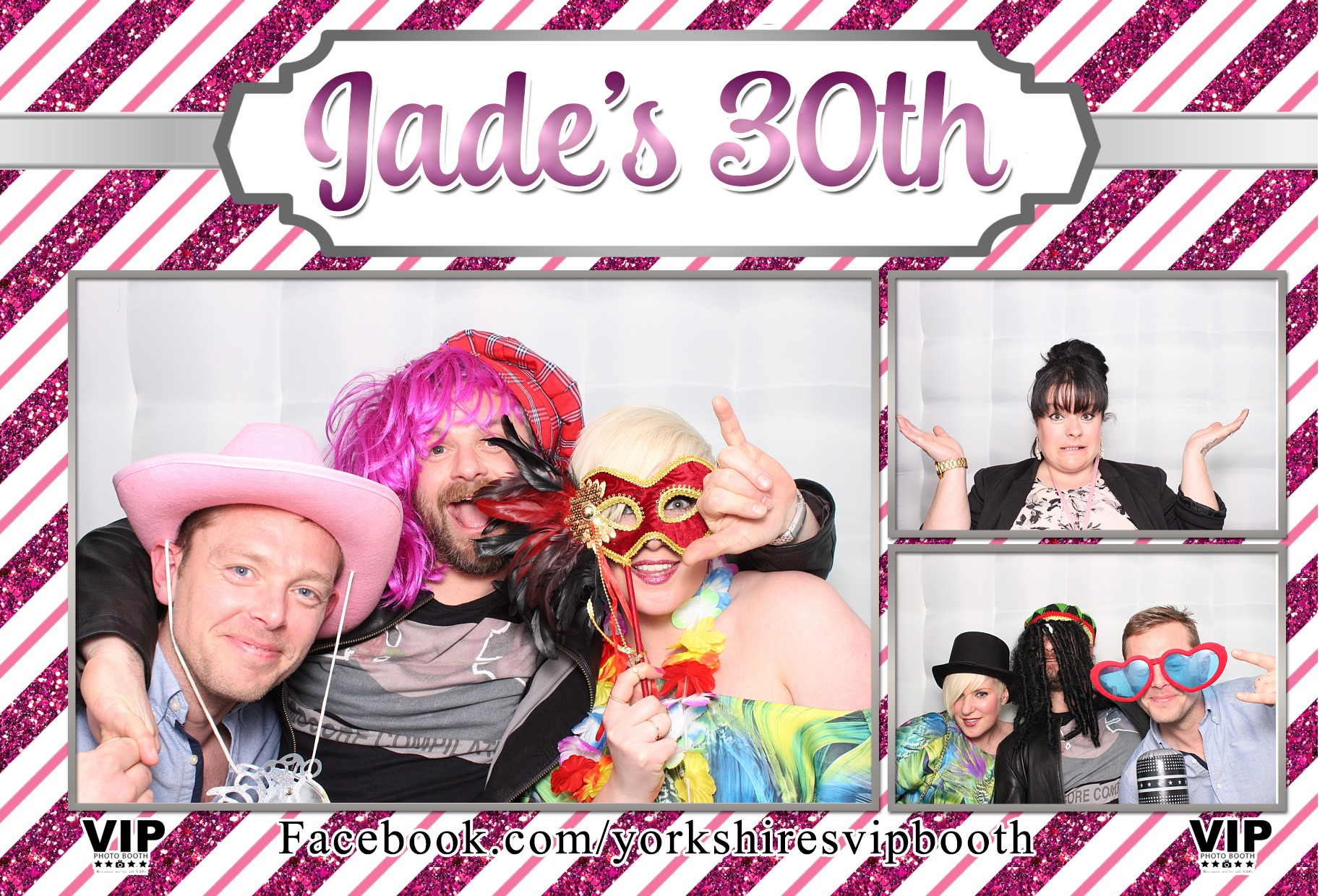 Jade's 30th Birthday - Photo Booth